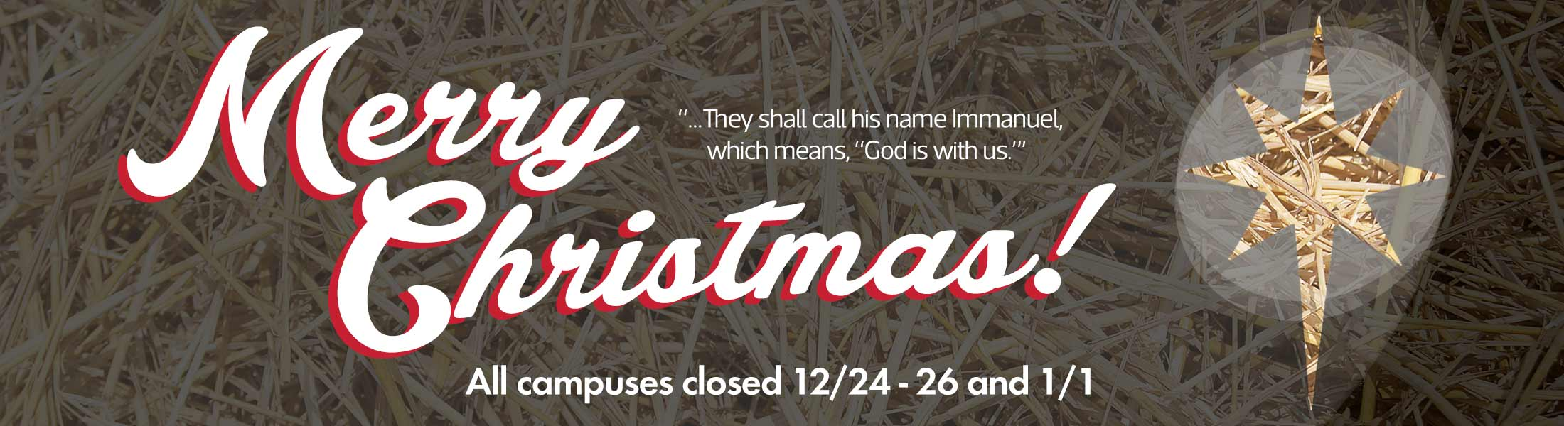Merry Christmas from Western Seminary