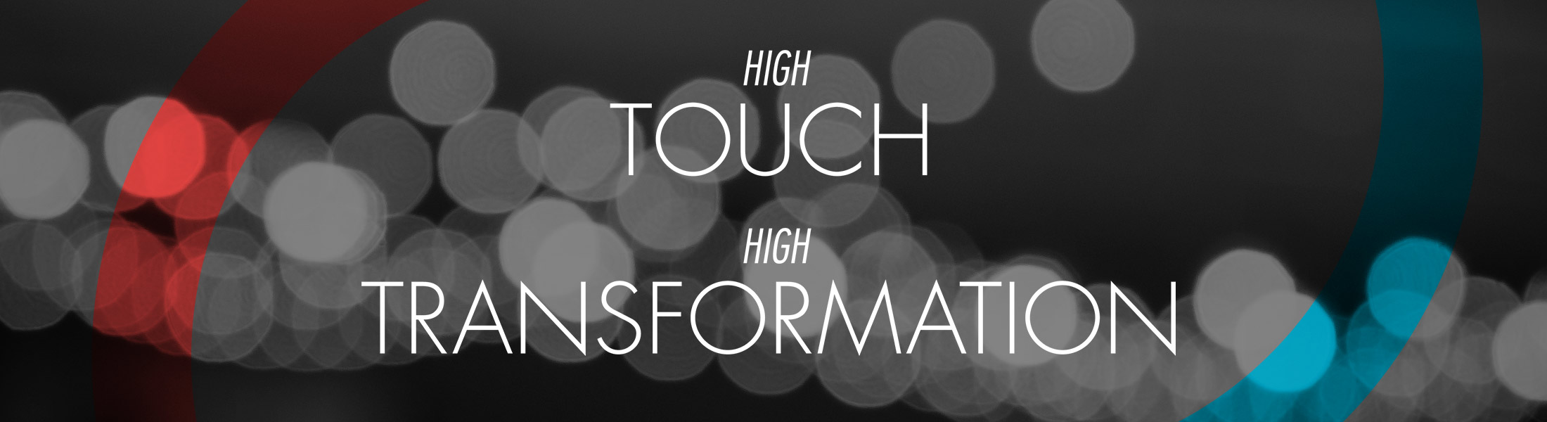 High Touch, High Transformation: Six student stories of not only powerful education, but of true life change.