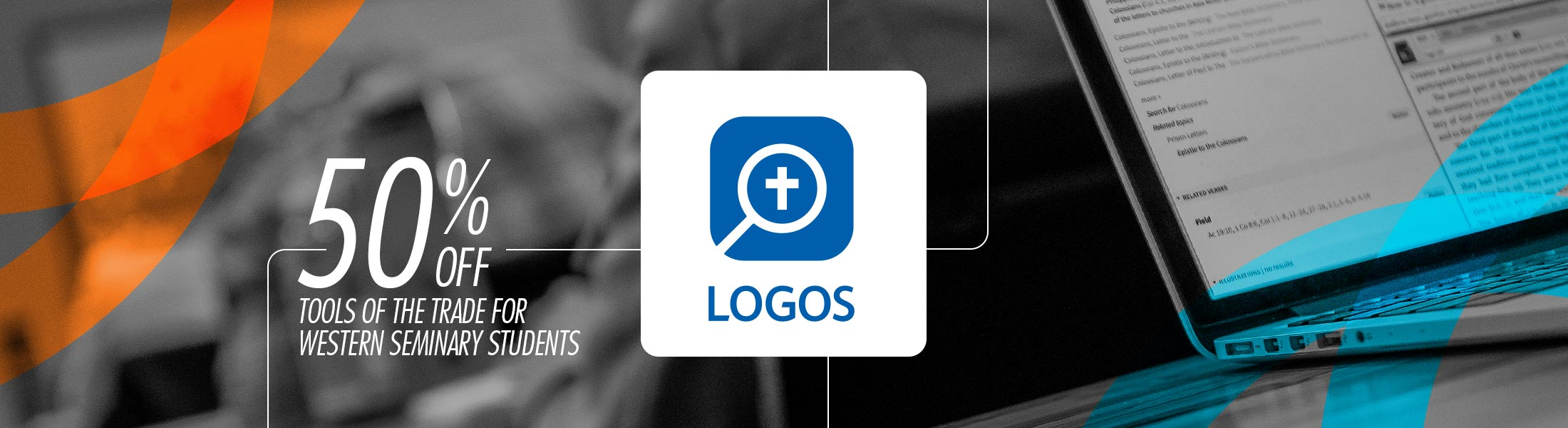 Get info on the massive Logos Bible Software discount for Western Seminary students.