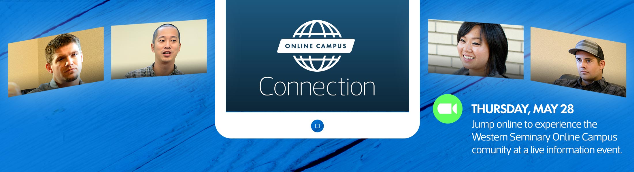 Get the scoop about Online Campus Connection - a prospective student information event for future online seminary students