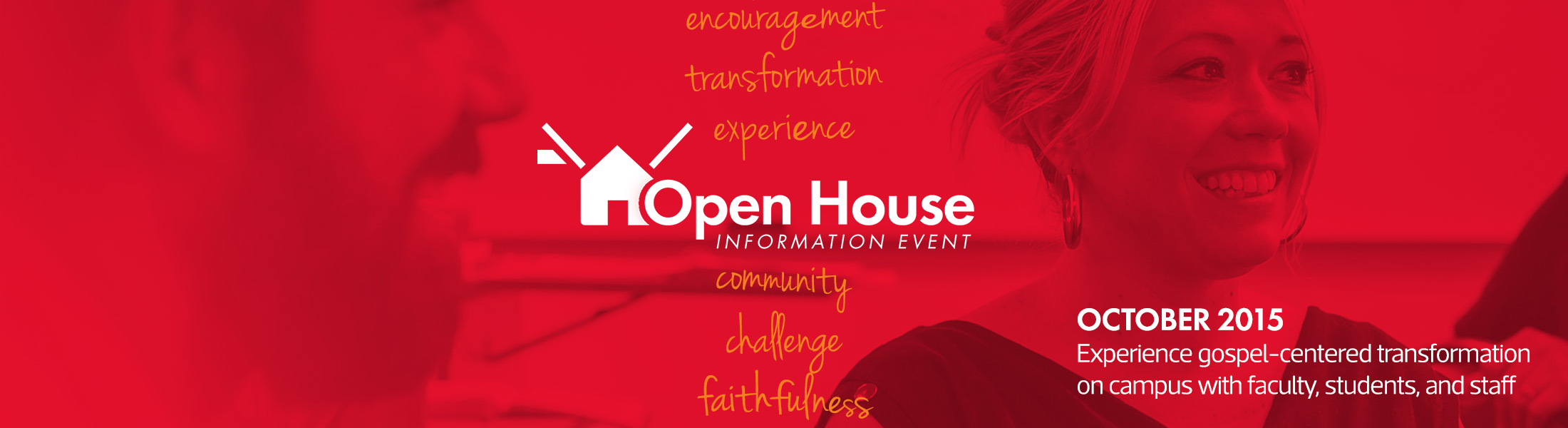 Join us at an upcoming Open House Information Event