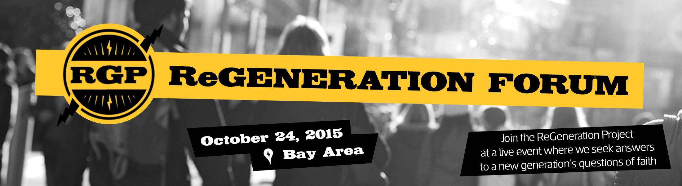 ReGeneration Forum 2015 - San Jose