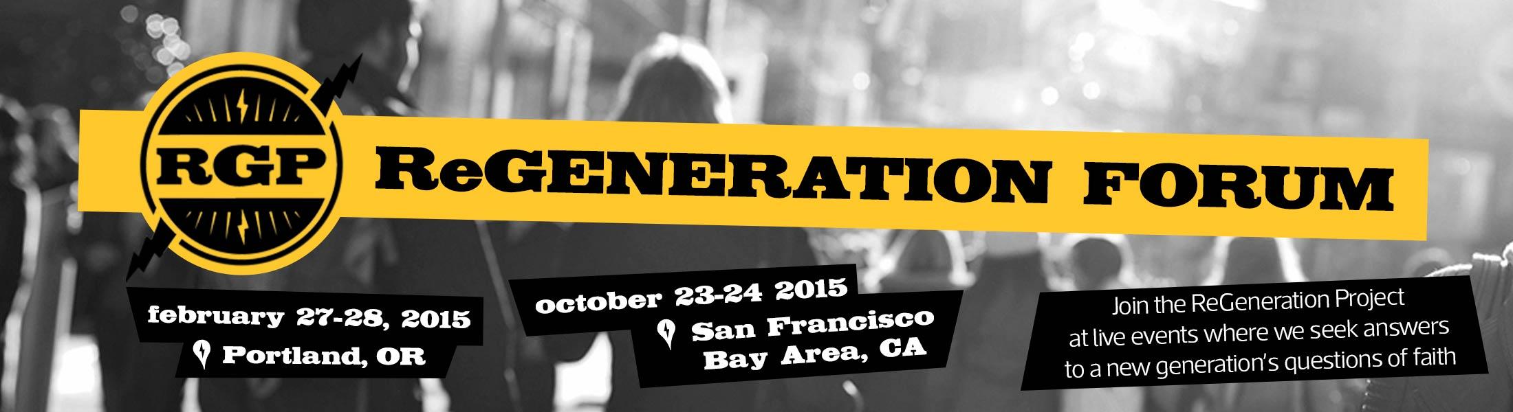 ReGeneration Forum