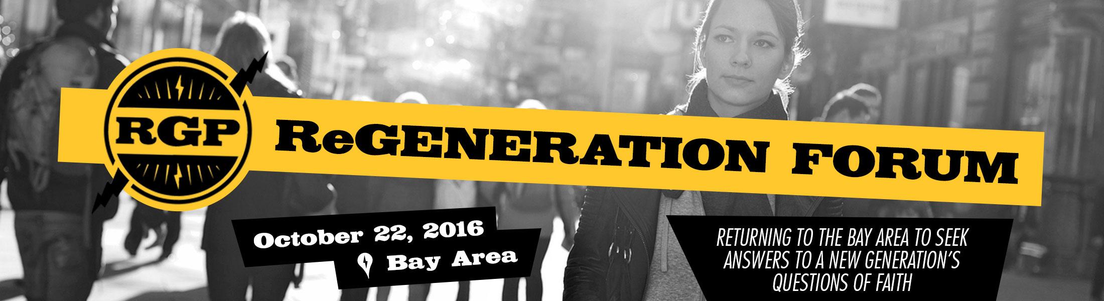 ReGeneration Forum 2016 - San Jose