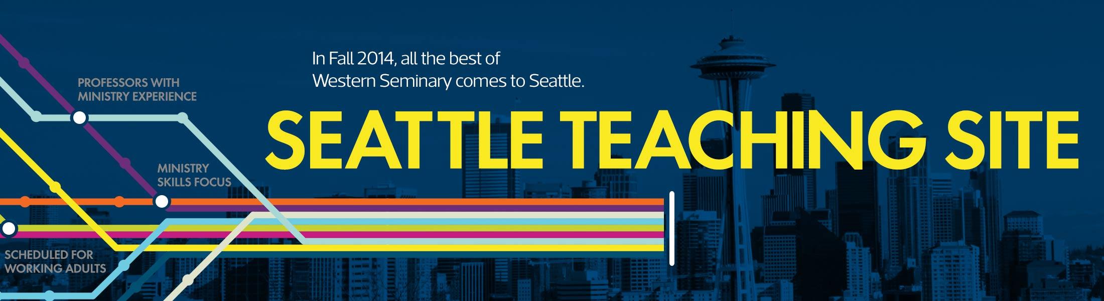 Western Seminary Seattle Teaching Site Banner