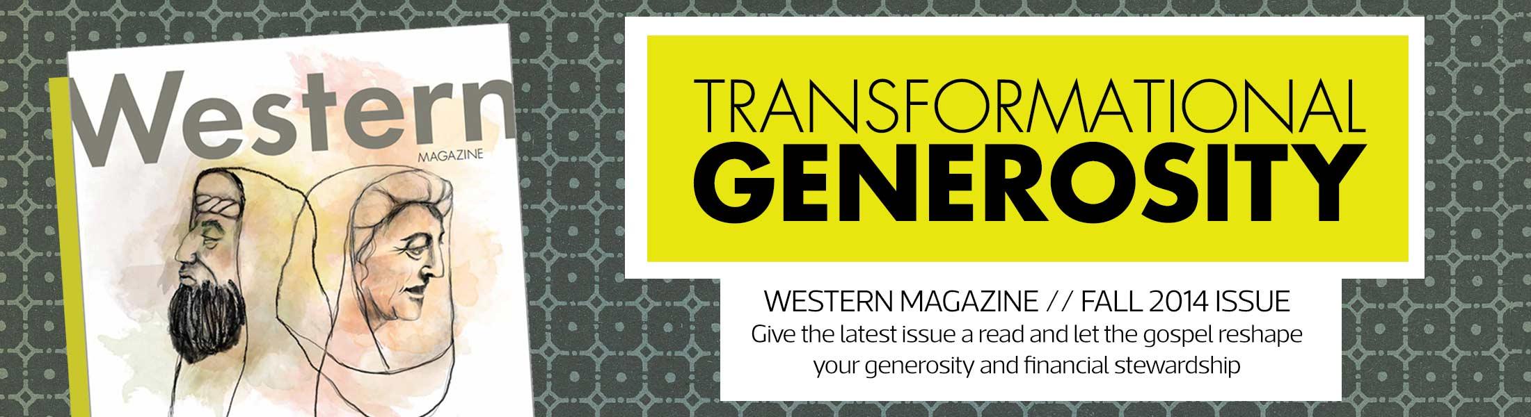 Western Magazine Fall 2014 Issue