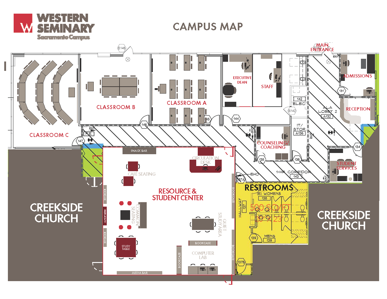 Haven For Hope Campus Map.Western Seminary