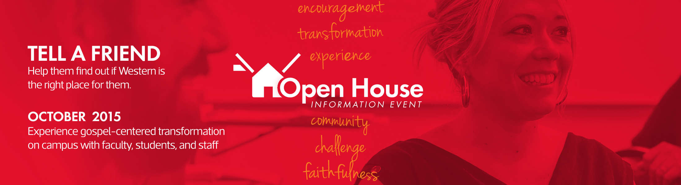 Open House Information Event - Fall 2015