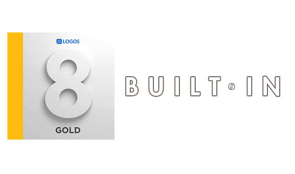 Logos Gold 8 Block Graphic