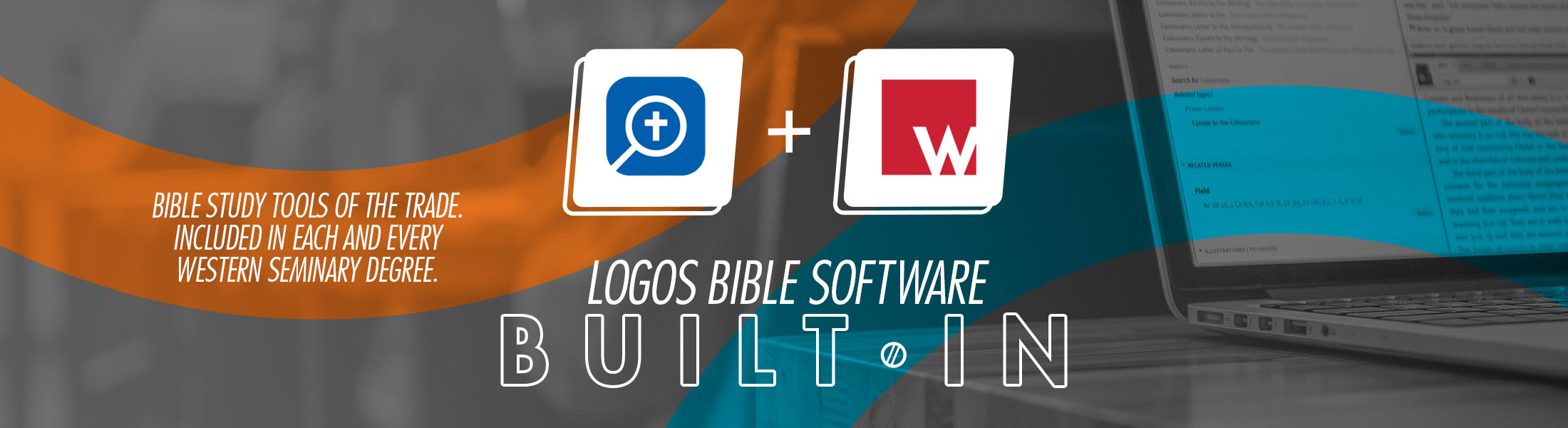 Logos Bible Software is built in to every degree program at Western Seminary.
